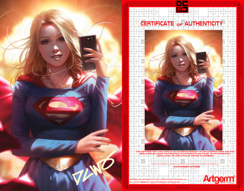 Signed With Metal COA Supergirl #42 DCWJ Variant (5/27/2020 Release)