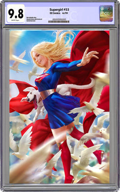 Supergirl #34 Variant Graded
