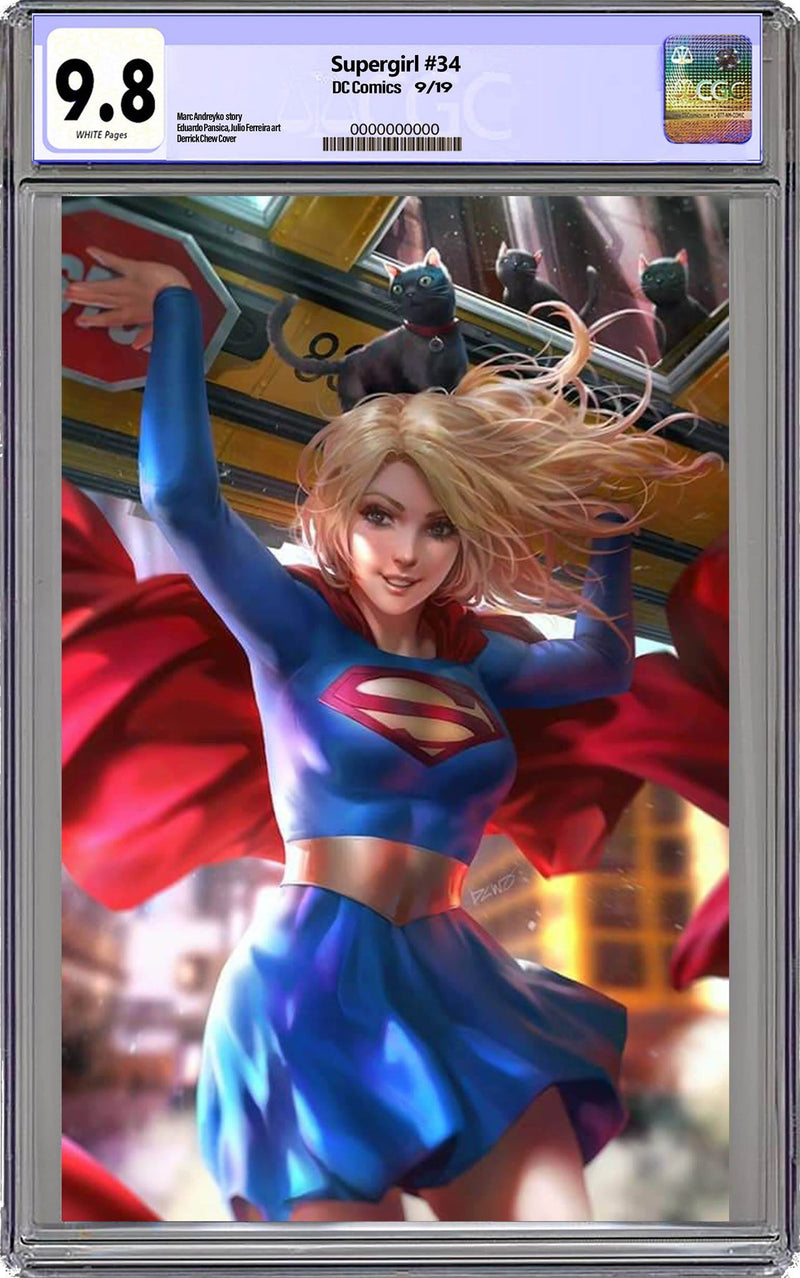 Supergirl #33  Chew Variant Graded 9.8