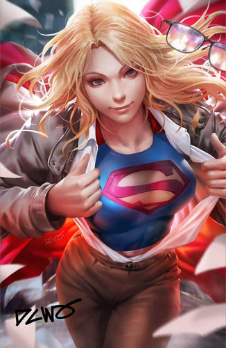 Supergirl #36 Variant signed by DCWJ (11/13/19 Release)