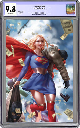 Supergirl #38 DCWJ Variant CGC 9.8 (01-08-20 Release)