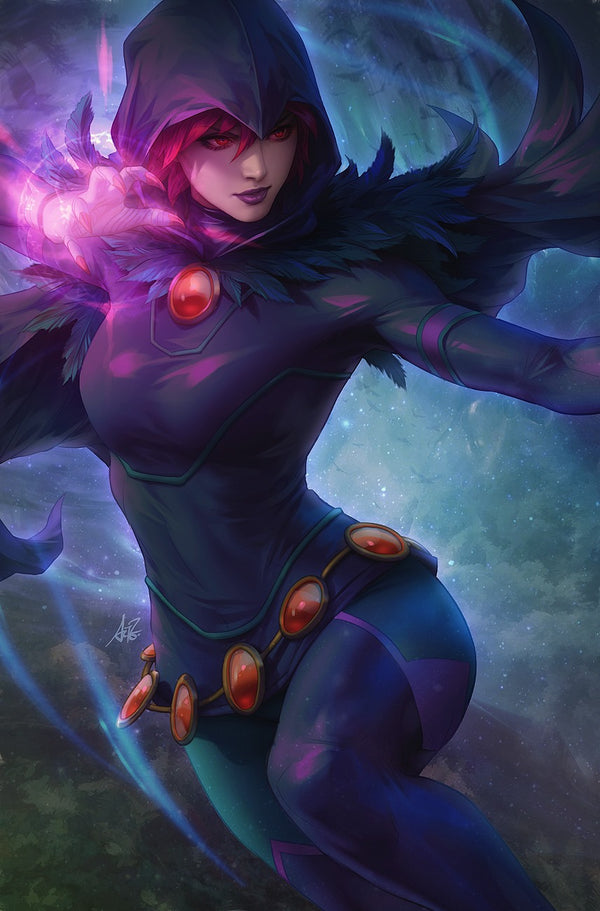 Tales From The Dark Multiverse The Judas Contract #1 Artgerm Collectibles Exclusive Raven virgin