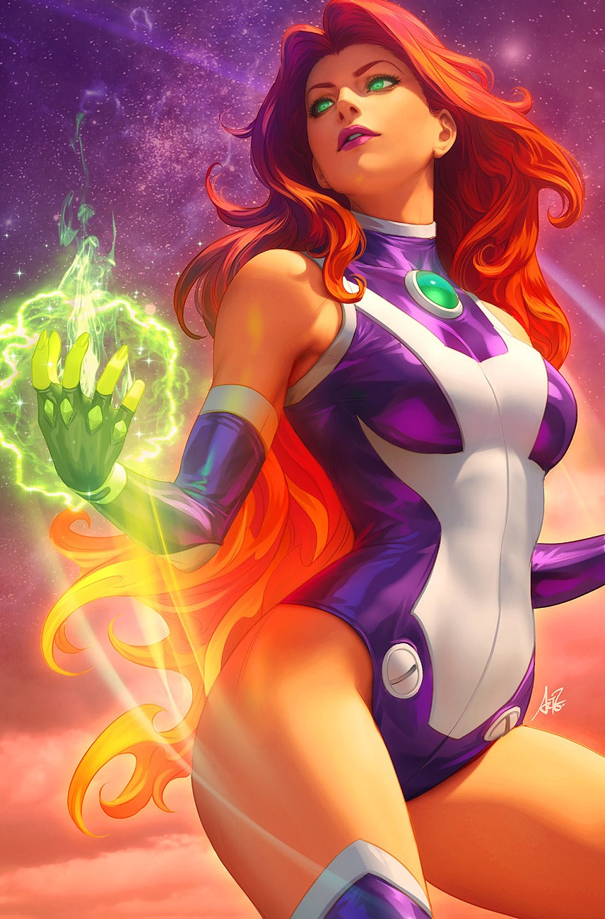 Tales From The Dark Multiverse The Judas Contract #1 Artgerm Collectibles Exclusive Starfire virgin