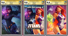 Load image into Gallery viewer, Tales From The Dark Multiverse The Judas Contract #1 Artgerm Collectibles Exclusive 3 Book Set Graded CGC