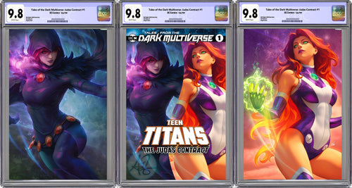 Tales From The Dark Multiverse The Judas Contract #1 Artgerm Collectibles Exclusive 3 Book Set Graded CGC