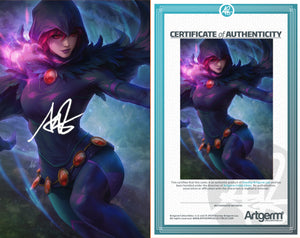 Signed With Metal COAs Tales From The Dark Multiverse: The Judas Contract #1 Artgerm Collectibles Exclusive 3 book set