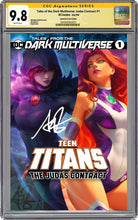 Load image into Gallery viewer, Tales From The Dark Multiverse The Judas Contract #1 Artgerm Collectibles Exclusive Trade Dress Graded CGC