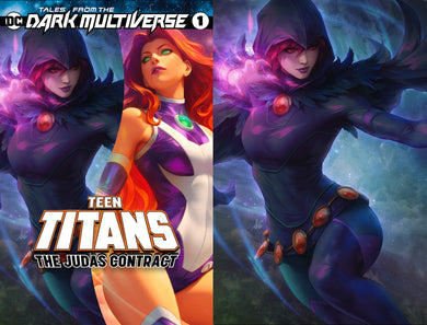 Tales From The Dark Multiverse The Judas Contract #1 Artgerm Collectibles Exclusive Raven Set