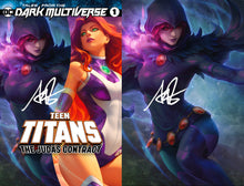 Load image into Gallery viewer, Tales From The Dark Multiverse The Judas Contract #1 Artgerm Collectibles Exclusive Raven Set