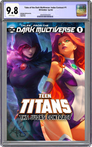 Tales From The Dark Multiverse The Judas Contract #1 Artgerm Collectibles Exclusive Trade Dress Graded CGC