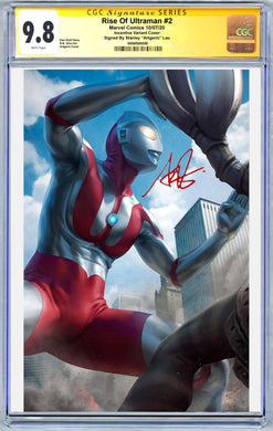 Ultraman #2 Artgerm 1:100 Virgin Variant CGC Graded Guaranteed 9.6 or Higher