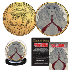 Vampirella Collectible Coin (10/30/19 Release)