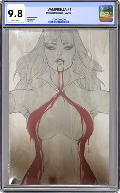 Vampirella #1 FOIL Virgin Artgerm Colletibles Exclusive CGC Graded 9.8