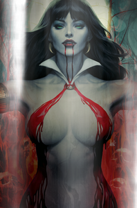 Retailer wholesale option for Vampirella #2
