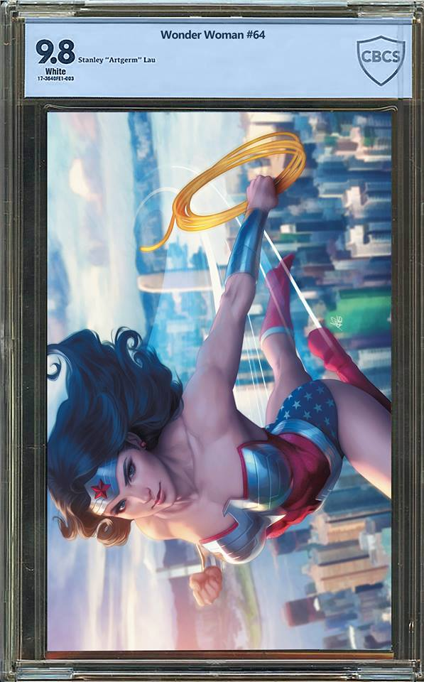 Wonder Woman #64 Variant Edition Graded Guaranteed 9.8