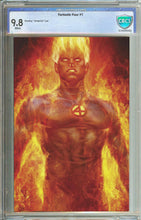 Load image into Gallery viewer, Fantastic Four #1 Unknown Comics Human Torch Virgin Variant Graded 9.8