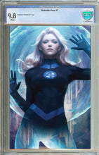 Load image into Gallery viewer, Fantastic Four #1 Invisible Woman Virgin Variant Graded 9.8
