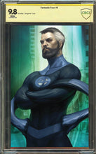 Load image into Gallery viewer, Fantastic Four #3 Mr Fantastic Virgin Variant Graded 9.8
