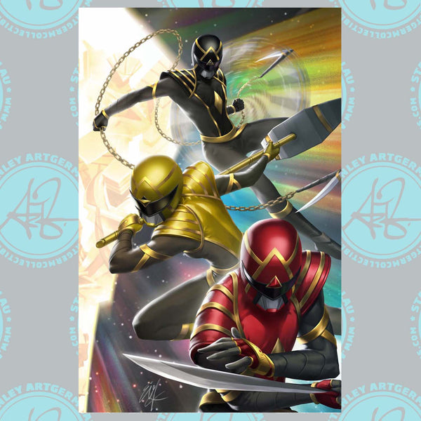 Power Rangers #1 Art By Ejikure Exclusive Virgin Variant (11/11/20 Release)