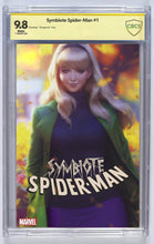 Load image into Gallery viewer, Symbiote  Spider-man #1 Artgerm Trade Dress Var Signed And Graded Guaranteed 9.8 (PRE-ORDER)