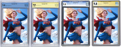 Supergirl #28 Artgerm Var Signed And Graded Guaranteed 9.8 (PRE-ORDER)