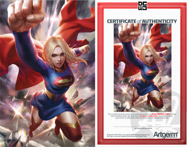Signed With Metal COA Supergirl #37 DCWJ Variant (12-11-19 Release)
