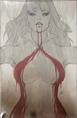 Vampirella #1 FOIL Sketch Virgin Artgerm Colletibles Exclusive