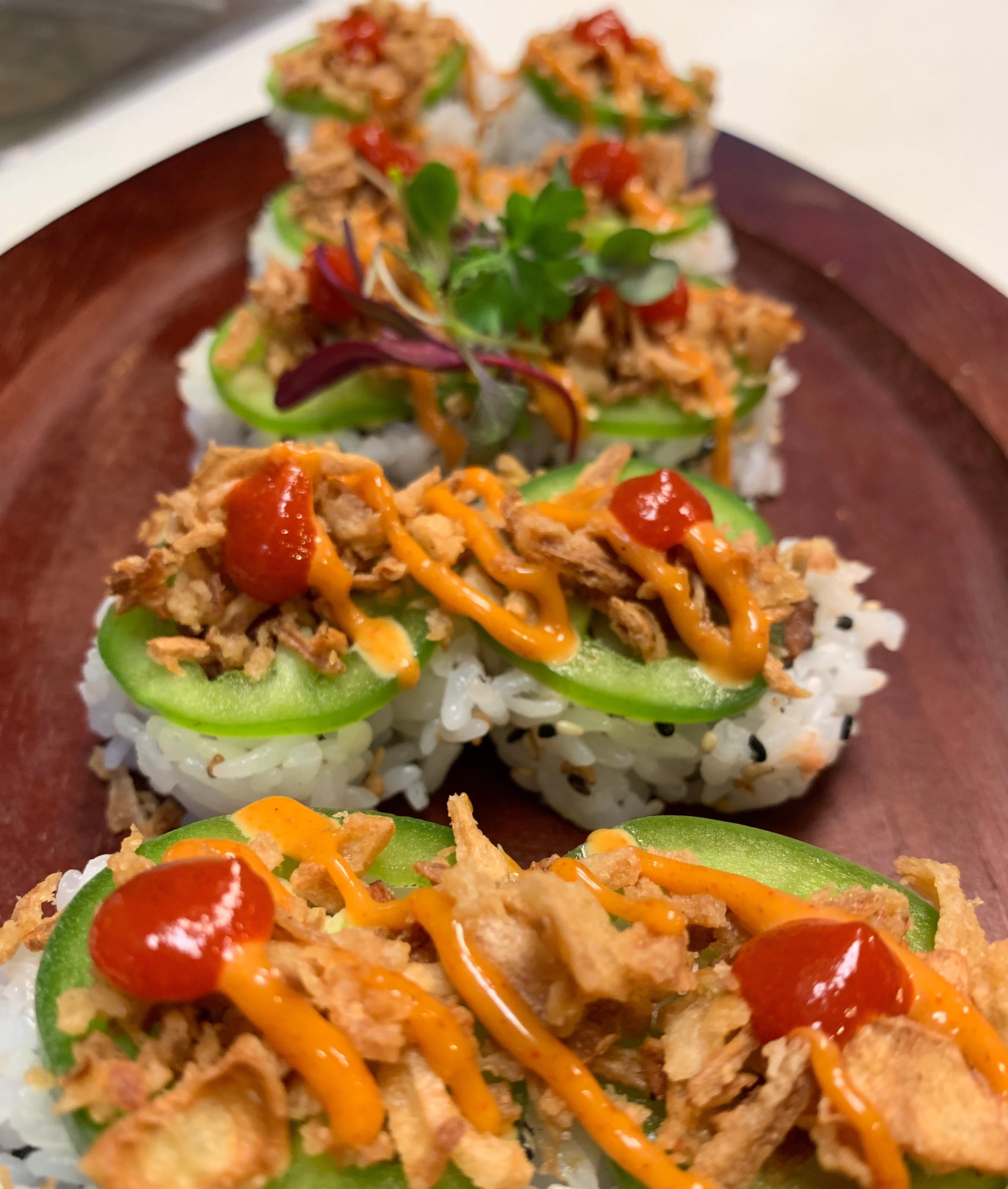 Crunchy Spicy Tuna Roll