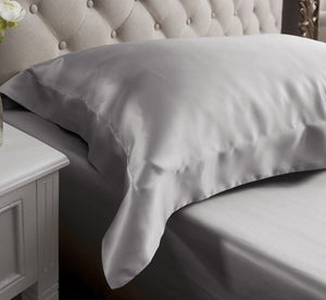 26 Momme Oxford Silk Pillowcase-Multi-color optional
