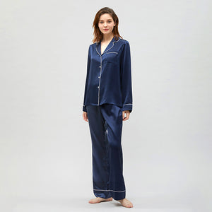 Women's Classic Silk Pajamas  Multi-Colors Selected