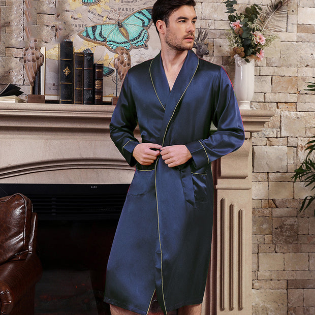 22 Momme High Quality Silk Robe for Men