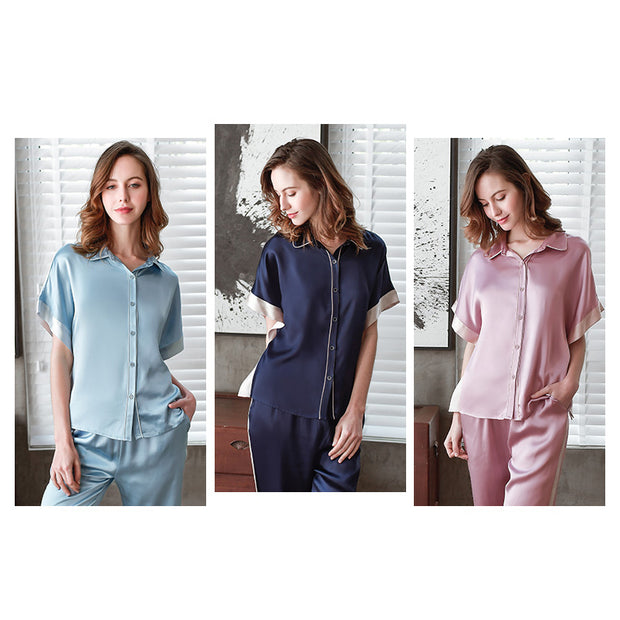 22 Momme Franch 2020 Collection Silk Pajamas Set