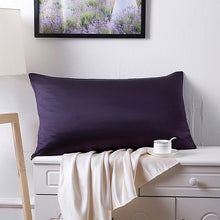 19 Momme Terse Double-Sided Silk Pillowcase-Multi-color optional
