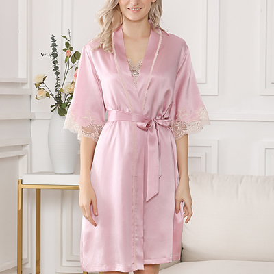 22 Momme Unique Silk Pajamas With Suspenders