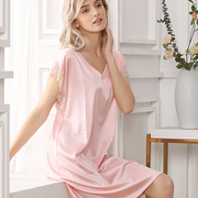 22 Momme Classic Short-sleeved Silk Pajamas