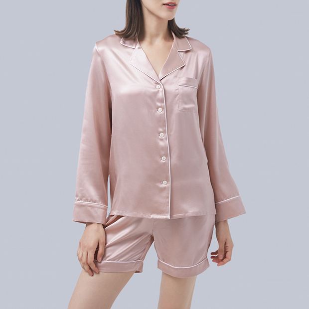 22 Momme Classic High Quality Silk Pajamas Set