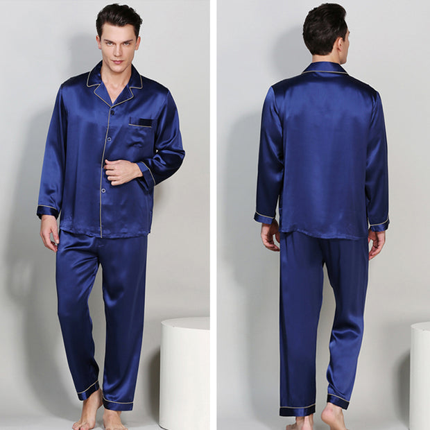 19 Momme Classic Silk Pajamas Set for Men