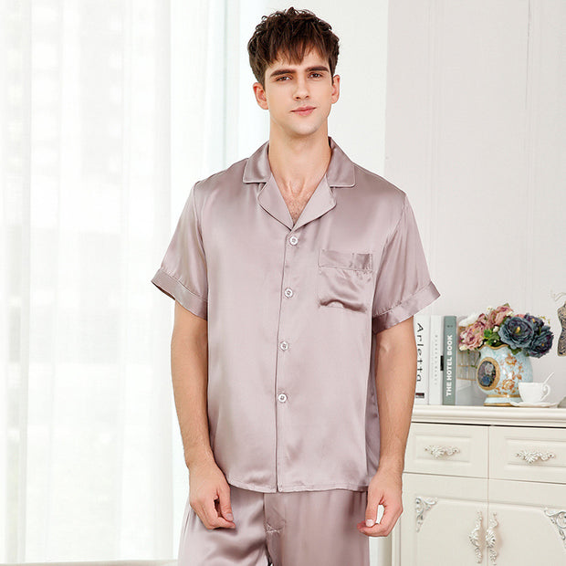 19 Momme Silk Pajamas Set for Men | Multi-Colors