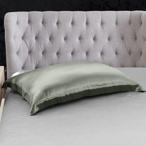 Oxford Pillowcase Both Sides in Silk | Envelope Closure | 19 Momme