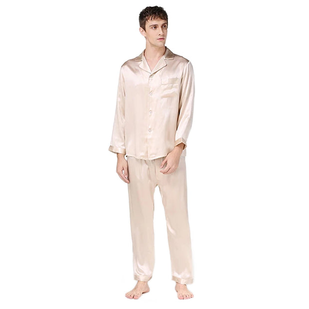 22 Momme High Quality Long Silk Pajamas