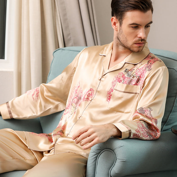 30 Momme Luxury Silk Pajamas Set For Couple