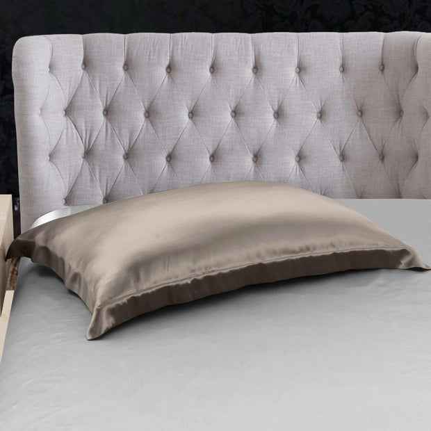 Oxford Pillowcase Both Sides in Silk| Envelope Closure | 22 Momme