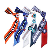 Women Lovely Printed Silk Scarf