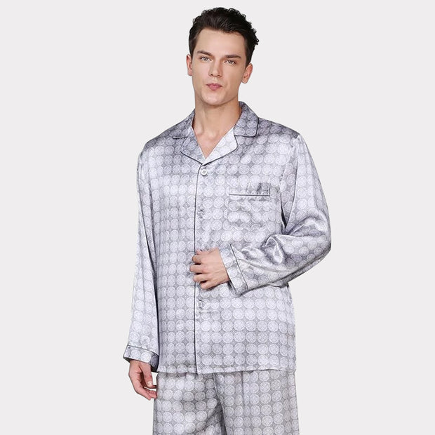 19 Momme Silk Pajamas Set for Men