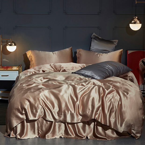 25 Momme Silk Duvet Cover Set | 4pcs