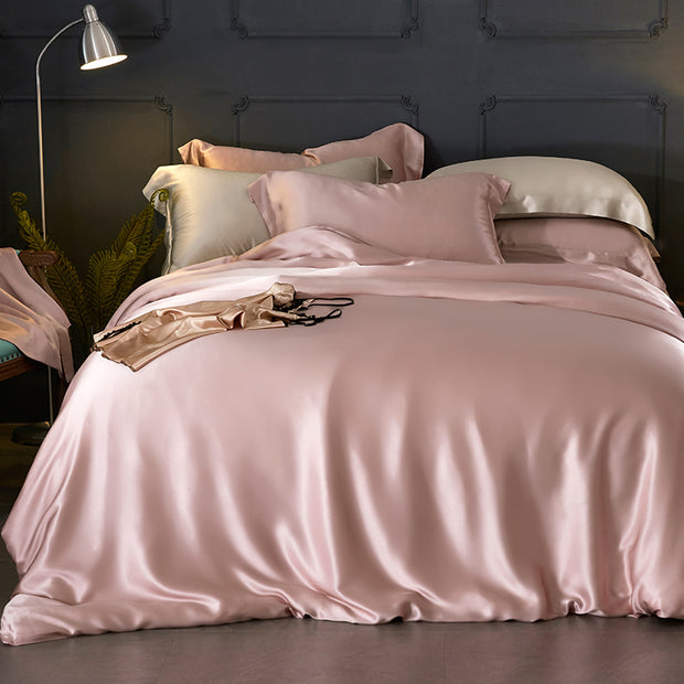19 Momme Silk Duvet Cover Set | 4pcs