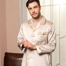 Luxury Silk Pajamas Set for Men