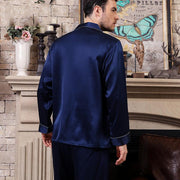 22 Momme High Quality Basic Silk Pajamas Set for Men