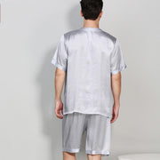 19 Momme Life Style Basic Silk Pajamas Set for Men