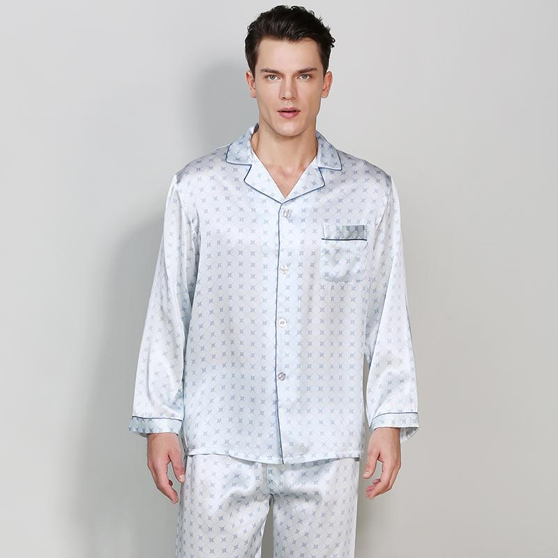 Silk Pajamas Set for Men